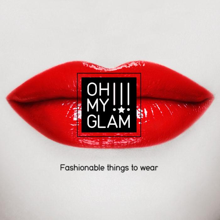 Création de l'identité visuelle Oh My Glam!!!